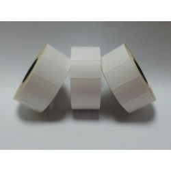 30,000 White Permanent Price Gun Pricing Labels - 26mm x 16mm - CT7