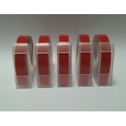 Motex E101 Embossing Tape (Red)(Pack of 5)