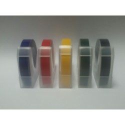 Motex E101 Embossing Tape (1 of each Colour)(Pack of 5)