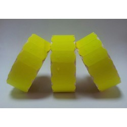 45,000 SATO Yellow Peelable 26mm x 12mm SATO / Samark Price Gun Labels Price Gun Labels