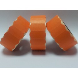 45,000 Orange Permanent 26mm x 12mm Price Gun Labels CT4 Puma Lynx Motex Pricing