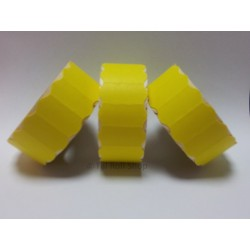 45,000 Yellow Peelable 26mm x 12mm Price Gun Labels CT4 Puma Lynx Motex Pricing