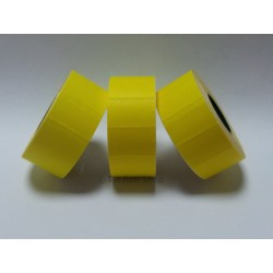 30,000 Yellow Permanent Price Gun Pricing Labels - 26mm x 16mm - CT7