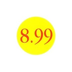 '8.99' Promotional Labels / Stickers - Qty: 500