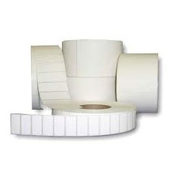 50,000 101.6 x 152.4mm WHITE Direct Thermal Labels with Perforations - 44mm Core