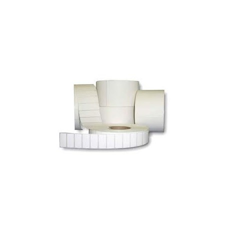 5,000 102mm x 76mm White Direct Thermal Labels - 25mm Core