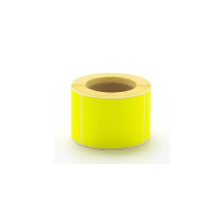 5,000 101 x 150mm Yellow Direct Thermal Labels - 76mm Core