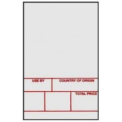 Avery Berkel Format 1 Scale Labels 49x74mm (12 rolls / 6,000 labels)