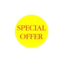 'Special Offer' off' Promotional Labels / Stickers - Qty: 2000